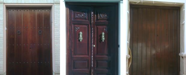 Lacar puertas barnizadas cheap puertas de madera - Lacar puertas sapelly ...